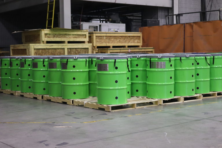 Green nuclear waste packaging provided by Paragon D&E